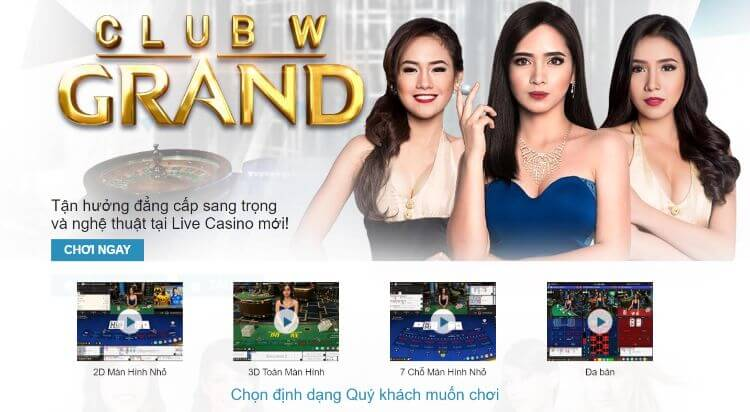 Sảnh W Grand casino online w88