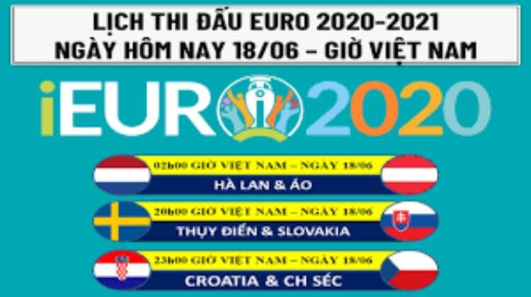 lịch euủo 18-6